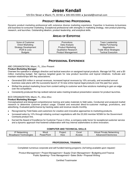 The computer generated resume
