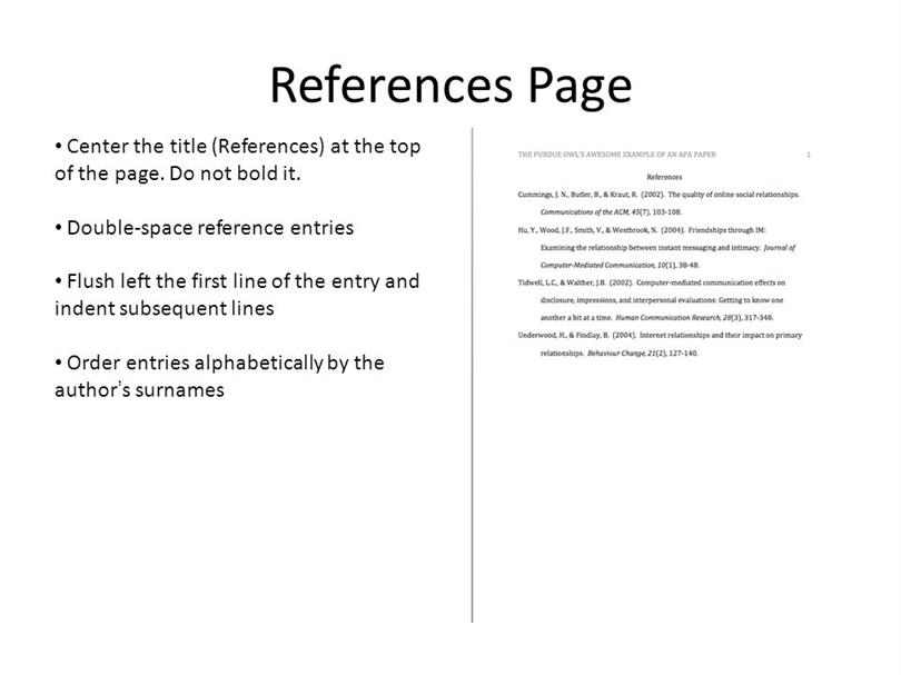How to reference an essay in apa