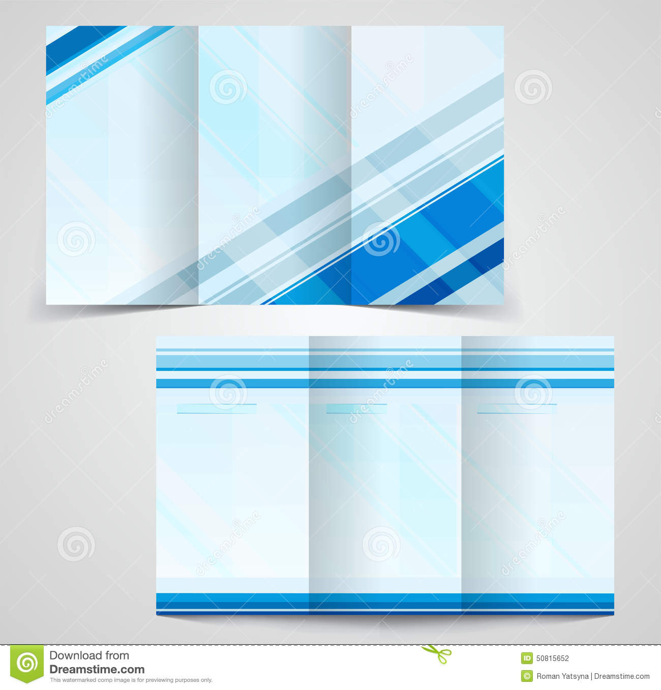 Best brochure templates for Double sided brochure template