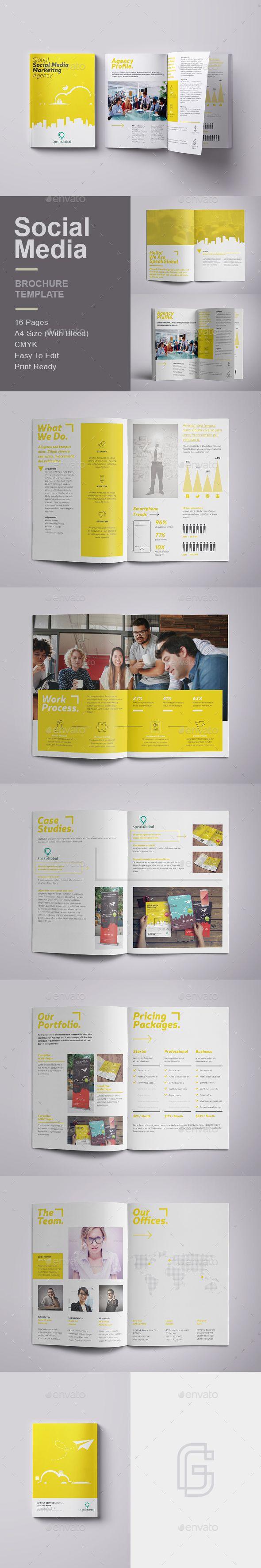 4 column brochure template - best brochure templates