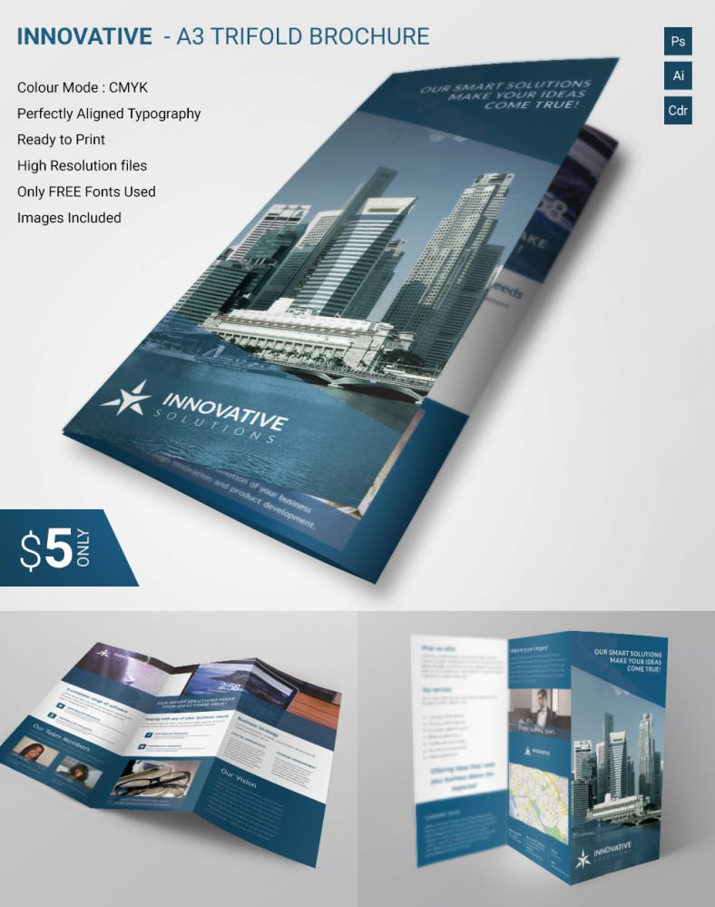 best brochure template best brochure templates