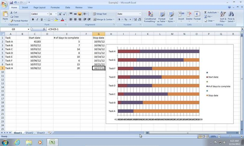 How to Create a Gantt Chart