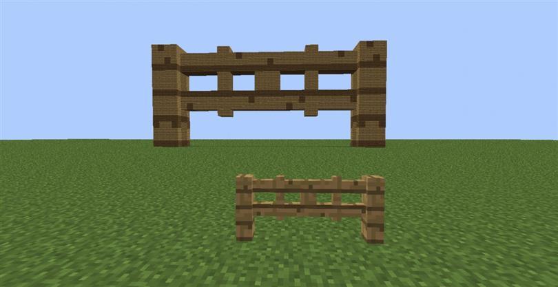 Minecraft Fence