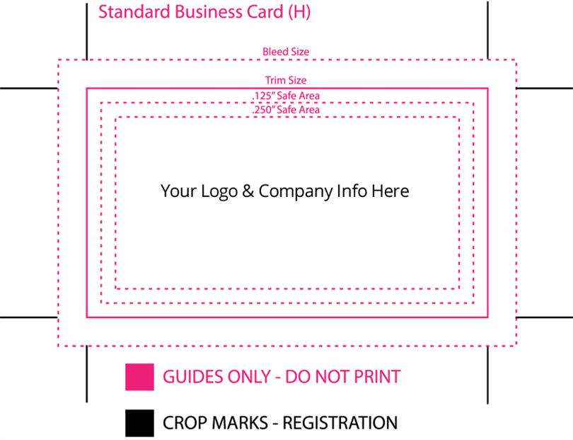 What is the Standard Business Card Size?