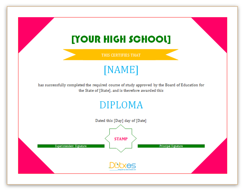 Best Certificate Template  Best Certificate Templates