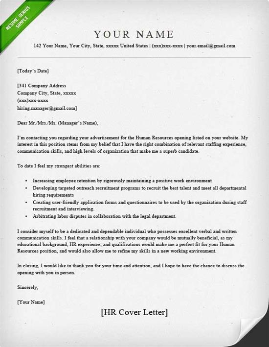Best Cover Letter Templates  The Perfect Cover Letter