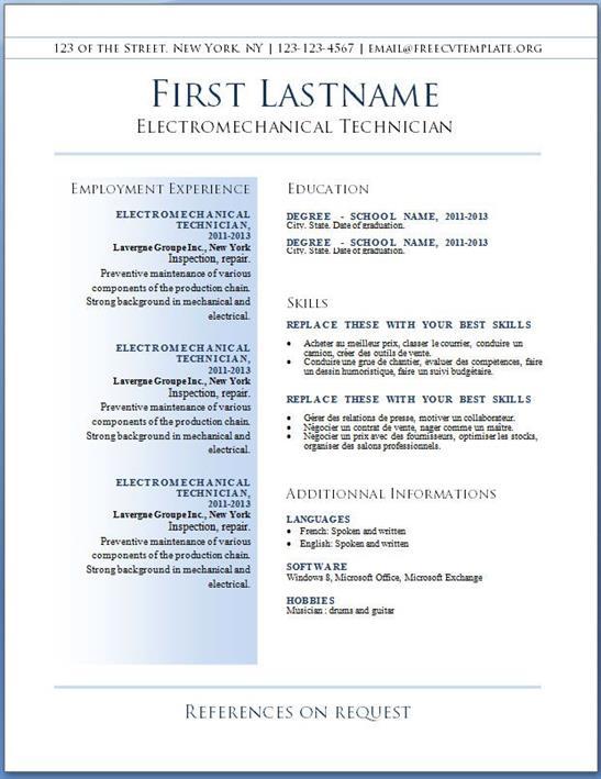 Best Resume Format  Best It Resume Format