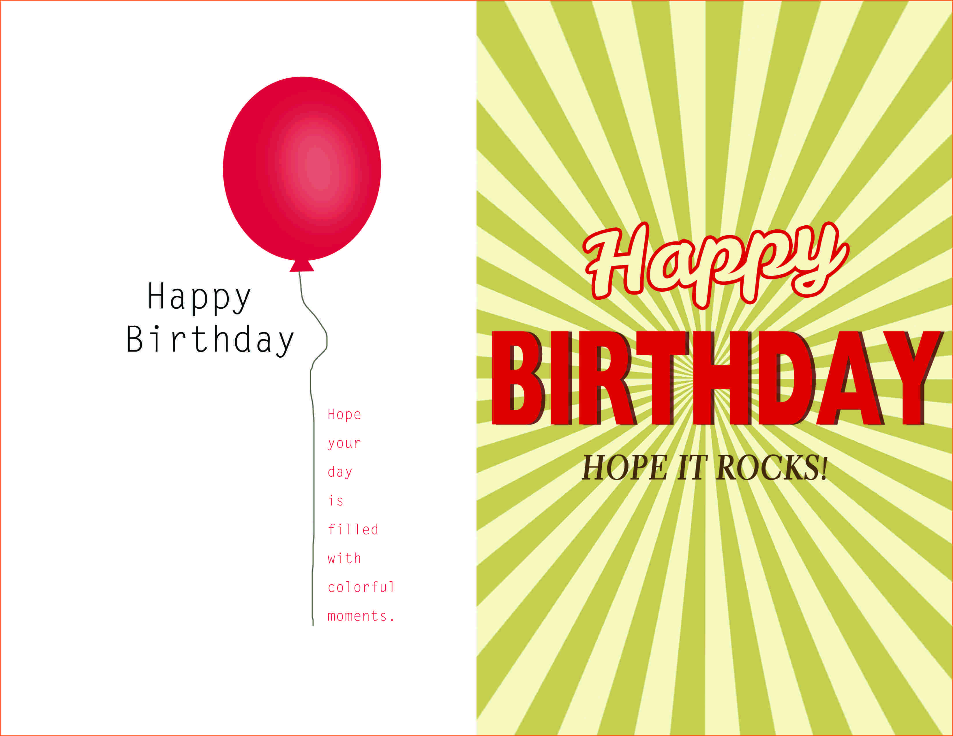 Card template birthday card template kristyandbryce Images