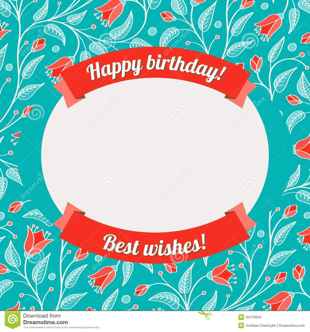 template greeting card vector illustration royalty free cliparts