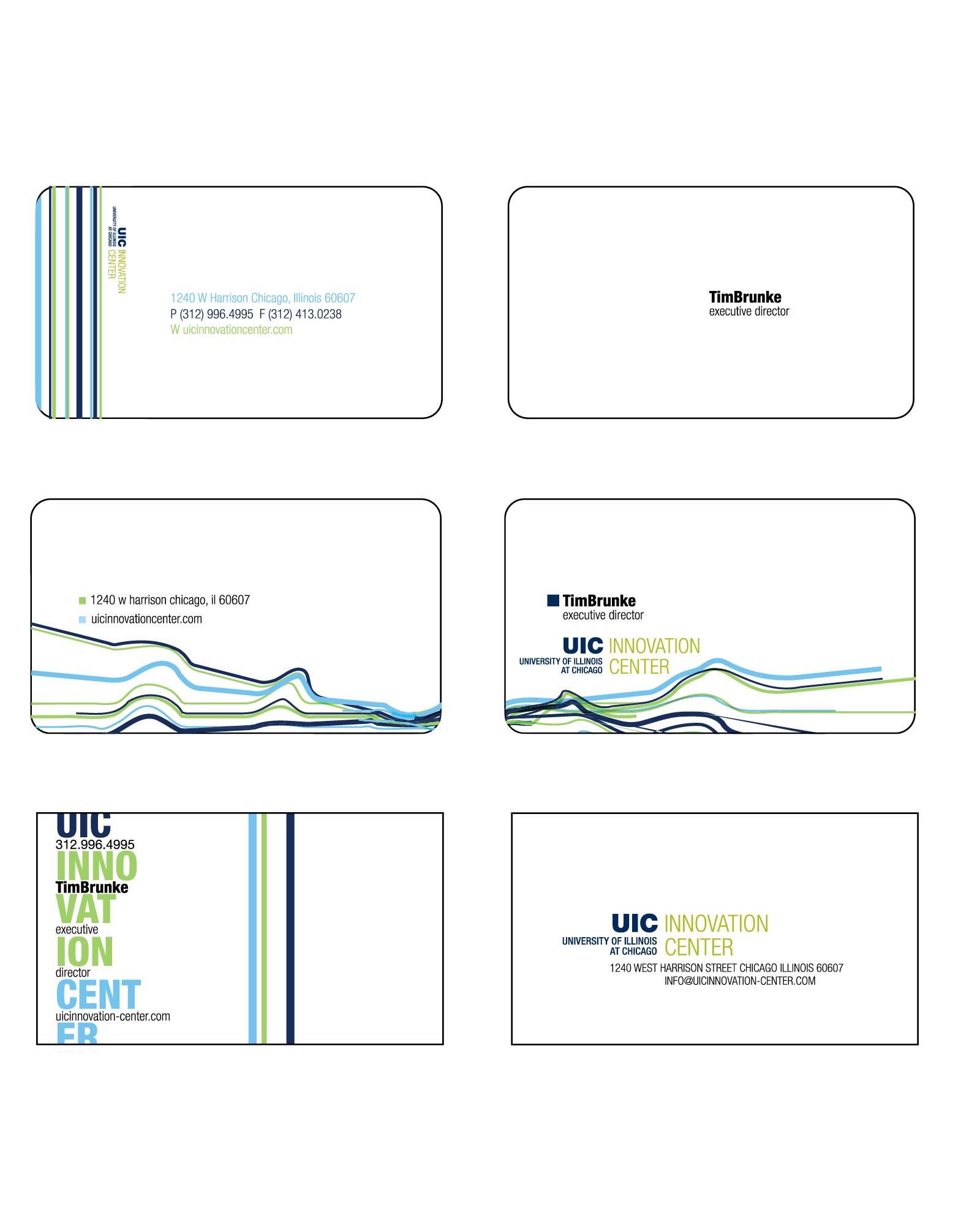 What is business card for Measurements of a business card