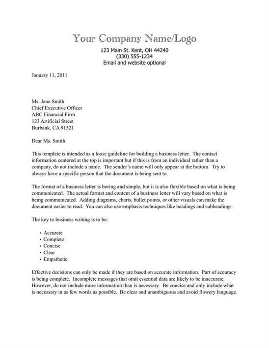 Business Letter Template Congratulations New Position - Obfuscata