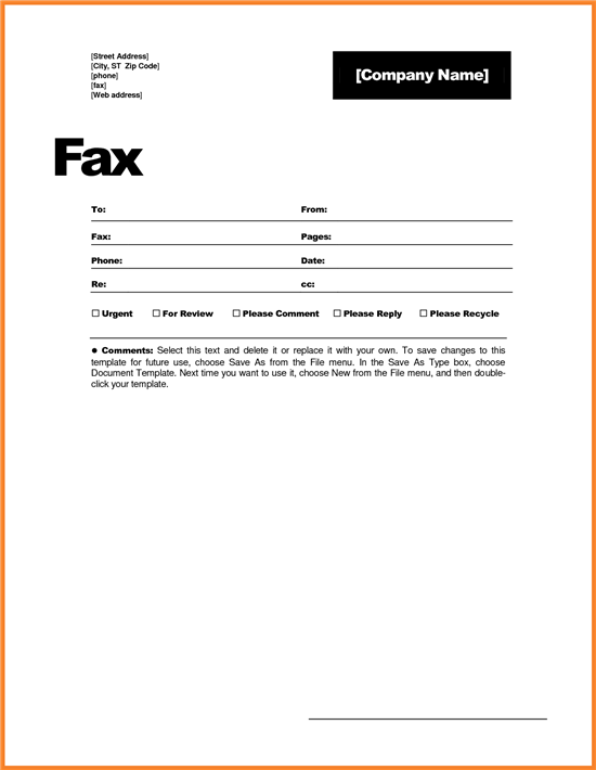 fax a document