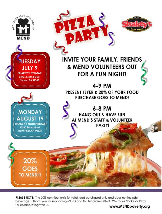 pizza sale flyer template - fundraiser flyer