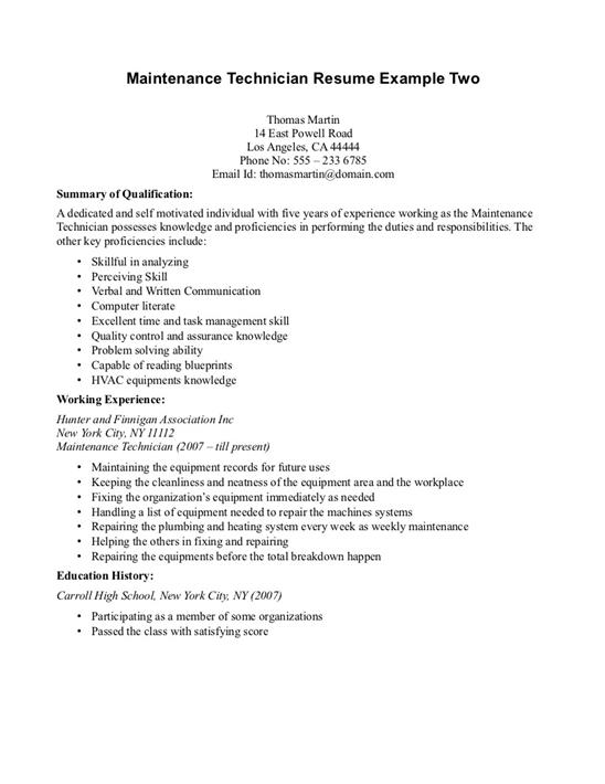 how to create an impressive job resume