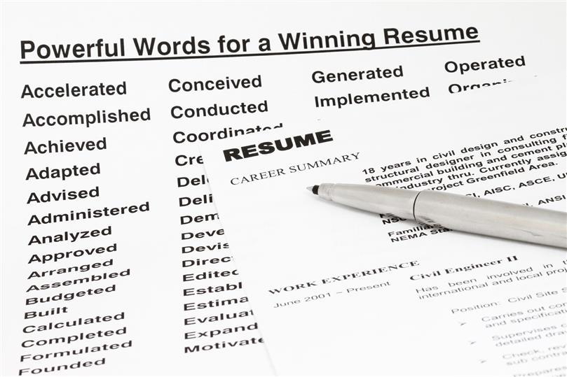 for Resume