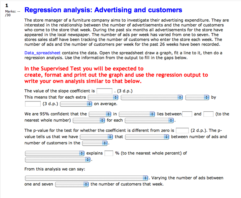 Regression Analysis Examples