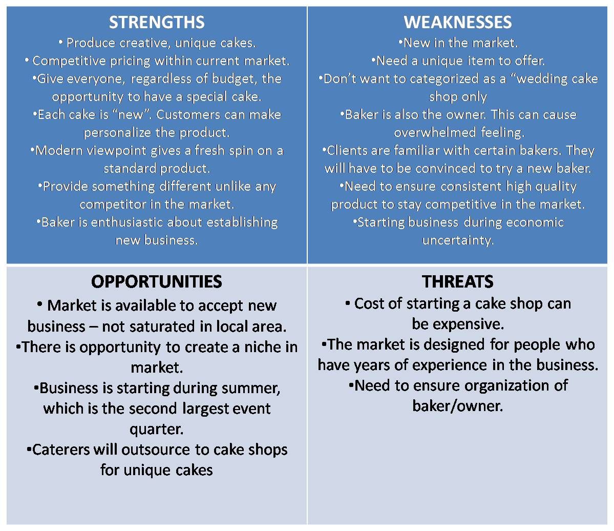 swot analysis 9 Slcs are responsible for conducting an annual survey of all students within their erc regarding center strengths, weaknesses, opportunities, and threats.