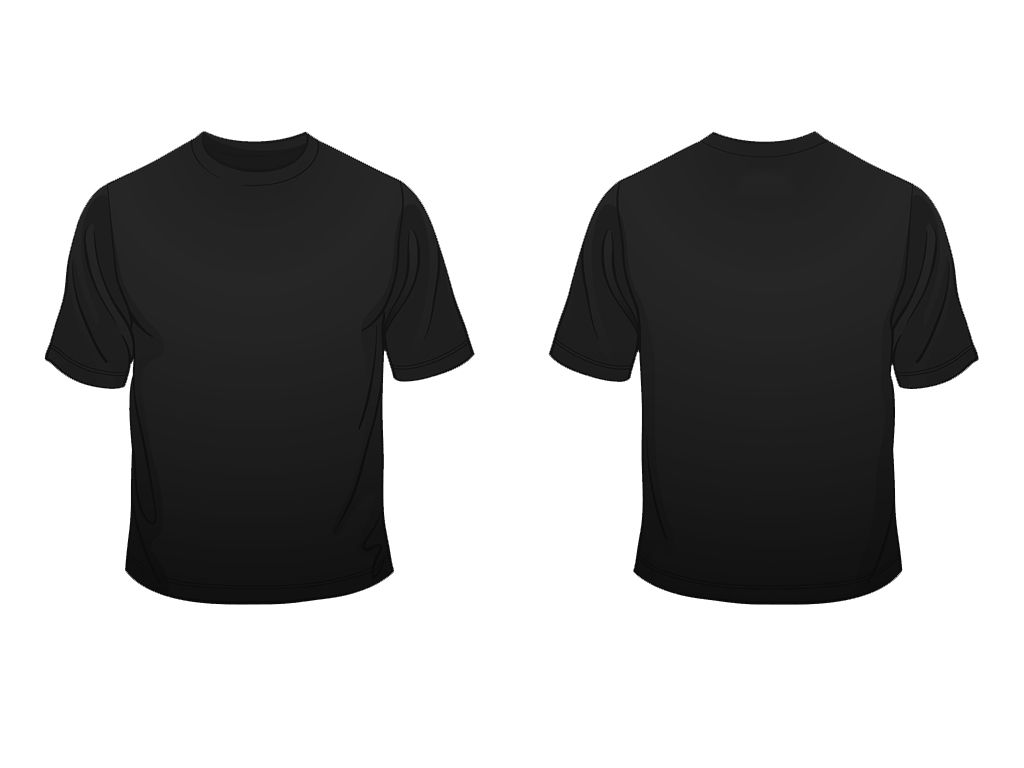 What is t shirt template for Template for t shirt design