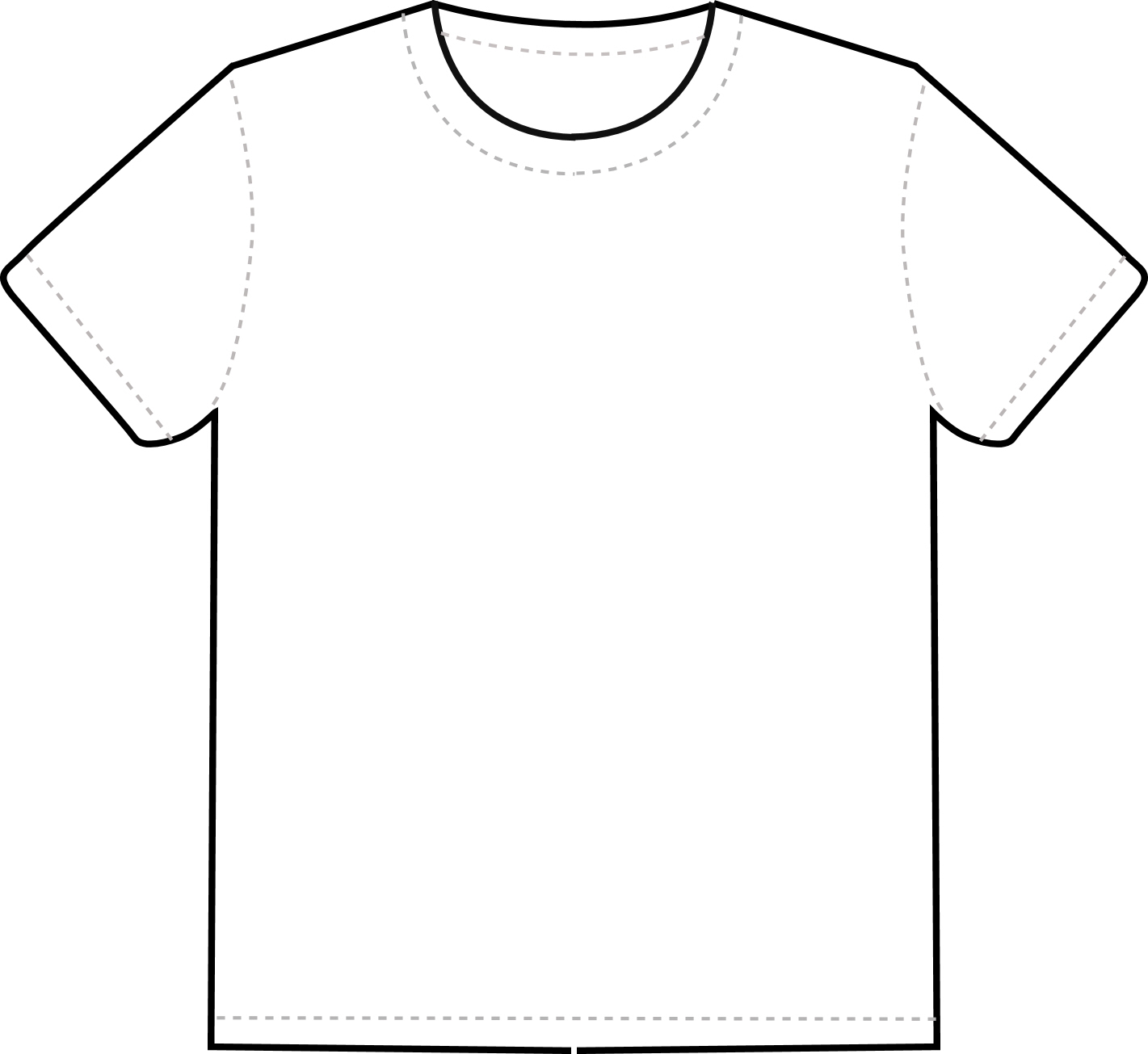 what is tshirt template