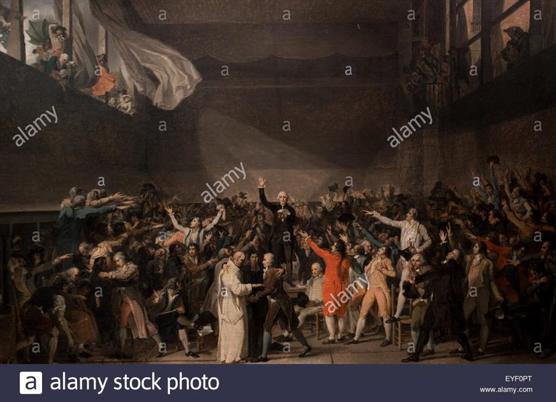 an analysis of the tennis court oath Topics: republic, roman empire, tennis court oath pages: 2 (570 words) published: october 24, 2010 french artist jacques-louis david's the oath of the horatii (1784-85) is an oil on canvas painting in the neo-classical style.