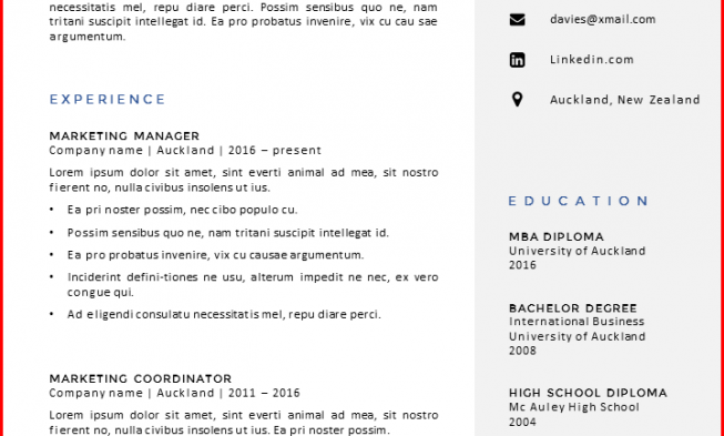 Where can you find a cv template yelopaper Gallery