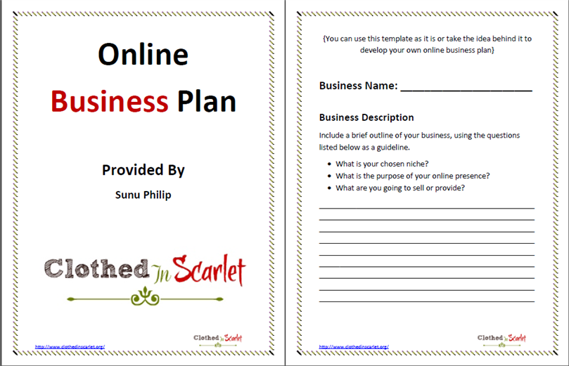Best business plan template accmission Choice Image
