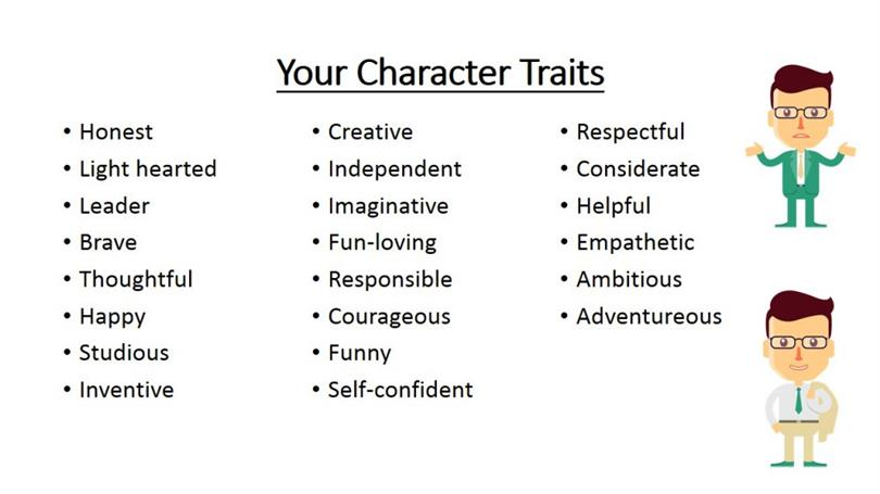 Good Adjectives To Describe Yourself On A Resume