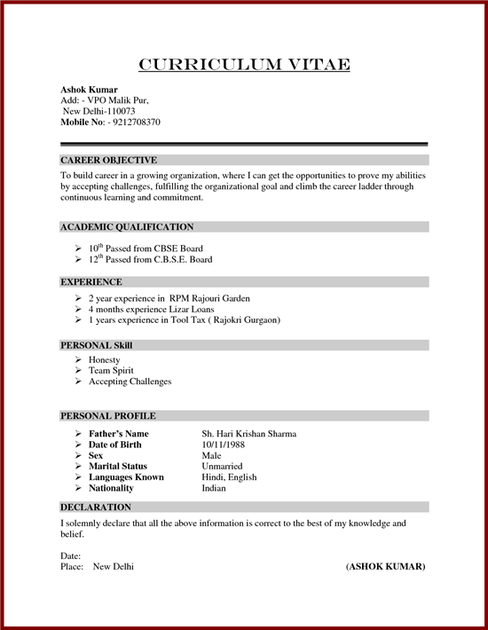 Summary Means In Resume