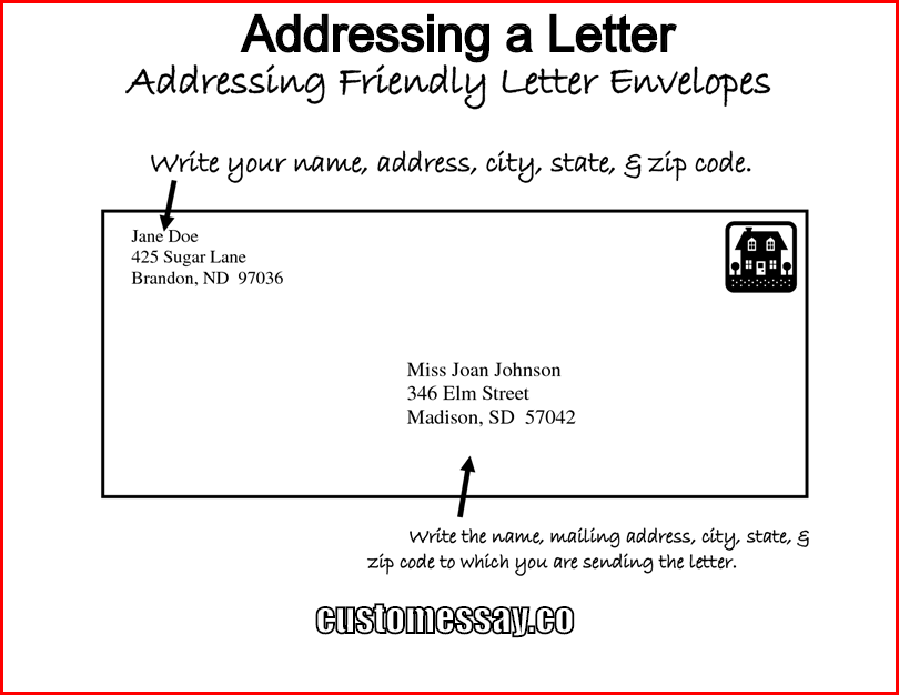 Addressing a Letter