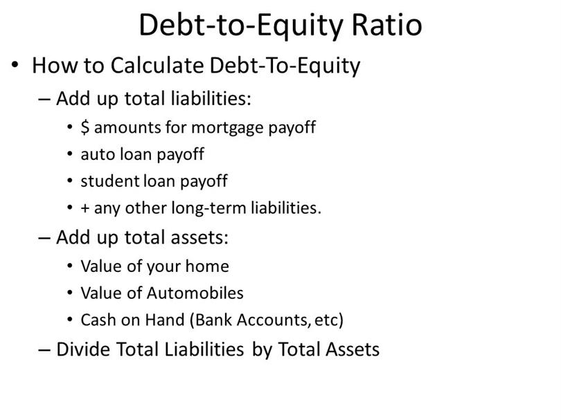 What is Definition of Long Term Debt to Equity Ratio?