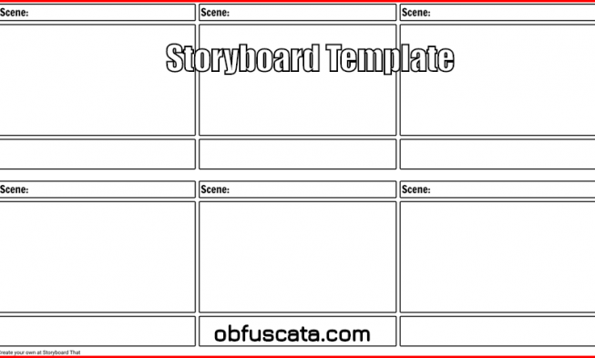 Where Can You Find A Storyboard Template