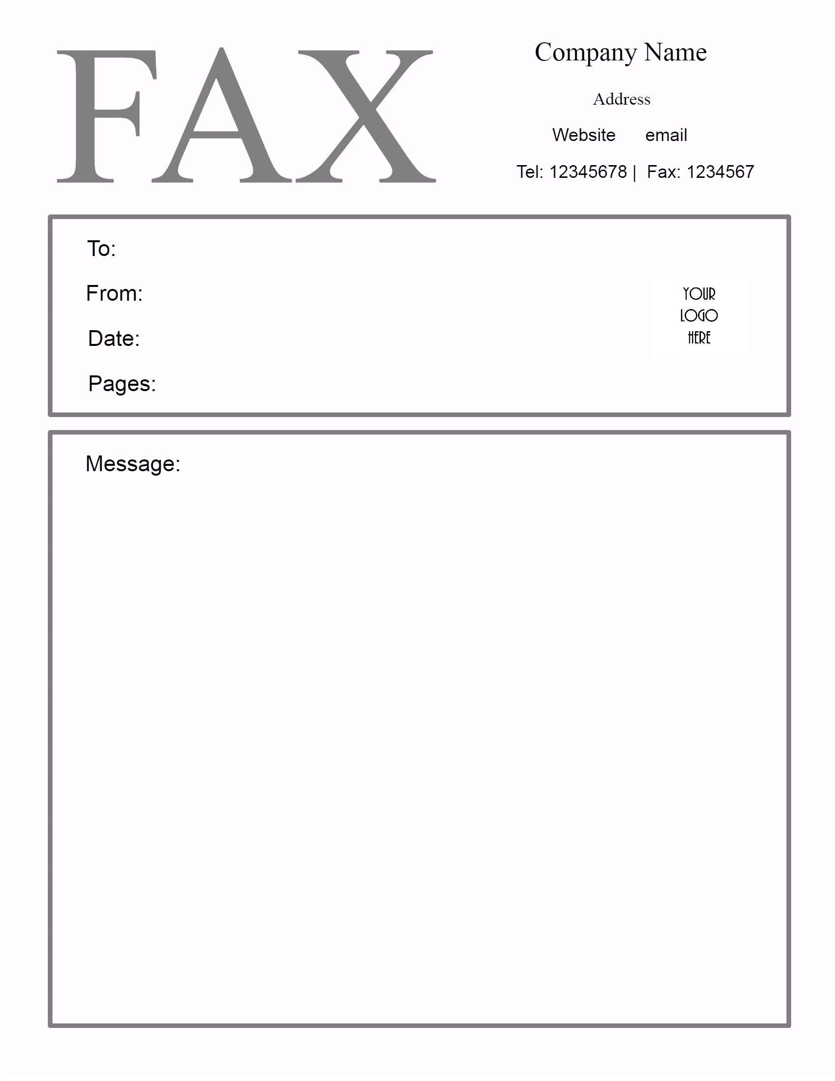 Nerdy image for downloadable fax cover sheets