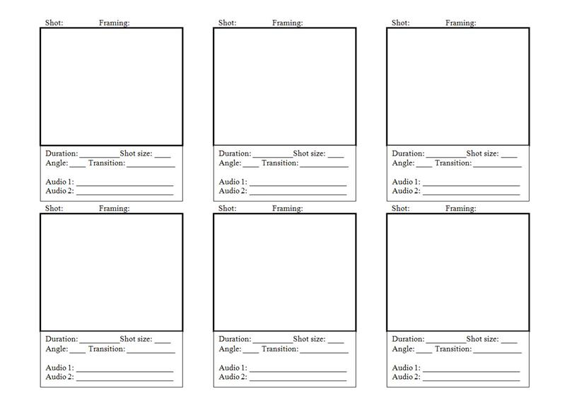 Storyboard Template Free Download Choice Image Template Design Ideas