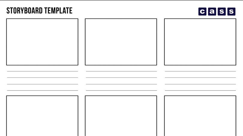 Storyboard Template 10 Boxes Choice Image Template Design Free