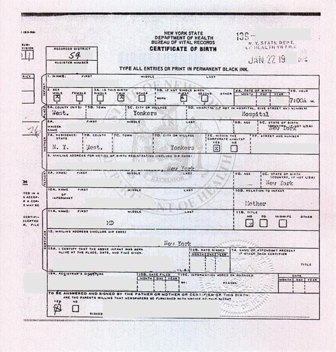 Where Can You Find Birth Certificate?