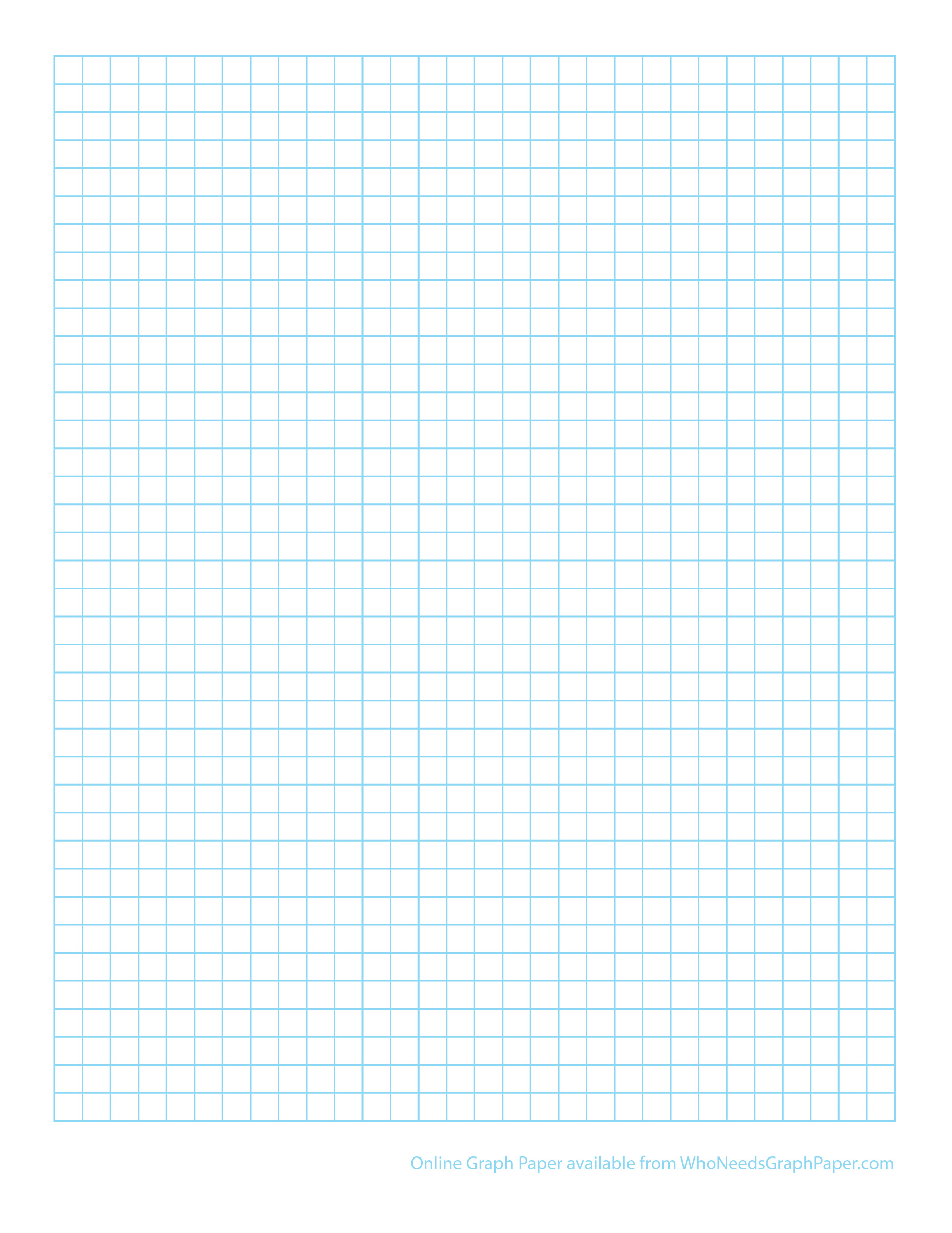This is a photo of Resource Print Grid Paper