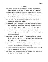 mla bibliography example
