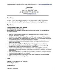 Examples of an objective statement for a resume