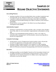 Resume career objective examples teacher