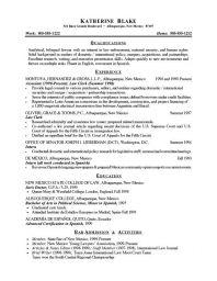 Resume Objective