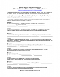 a resume objective