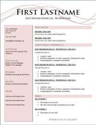 Resume Format Latest