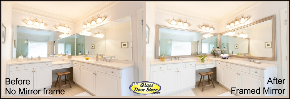 how to frame existing bathroom mirror use of the frame in bathroom 25395
