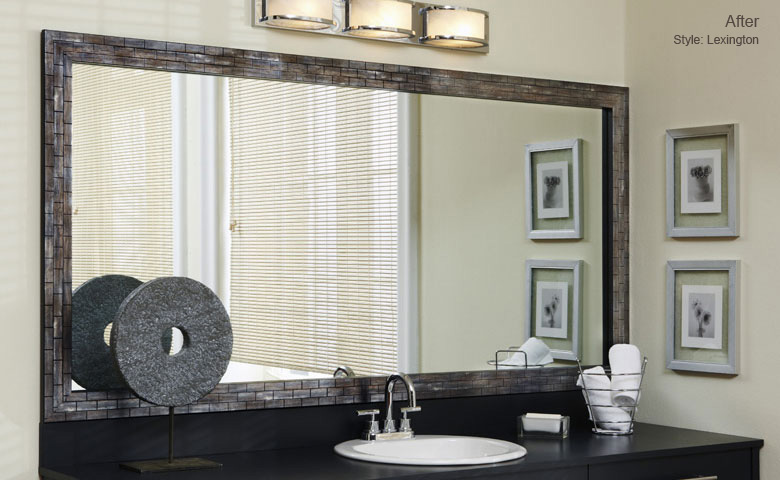 frame around mirror in bathroom use of the frame in bathroom 23193