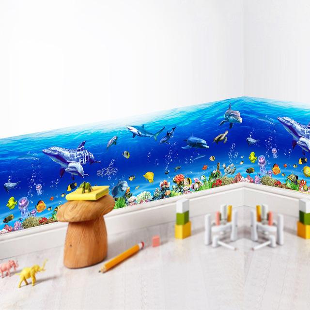 Marine Effect in Bathroom