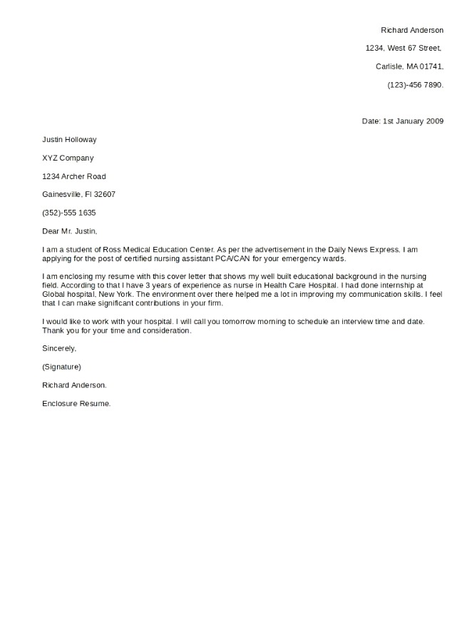 a good cover letter cover letter 13200 | Great Cover Letters 2