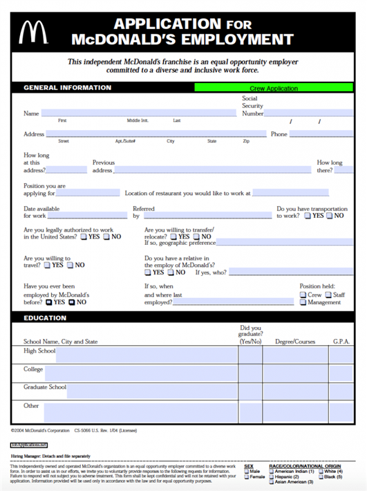Job-application-form-8 Job Application Form Cv Writing on letter format, print out, form for, sample words,