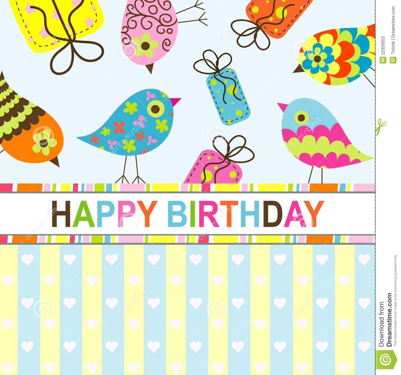 8 Free Birthday Card Templates: Birthday Card Template