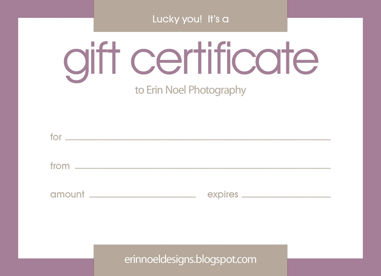 What It Is A Gift Certificate Template