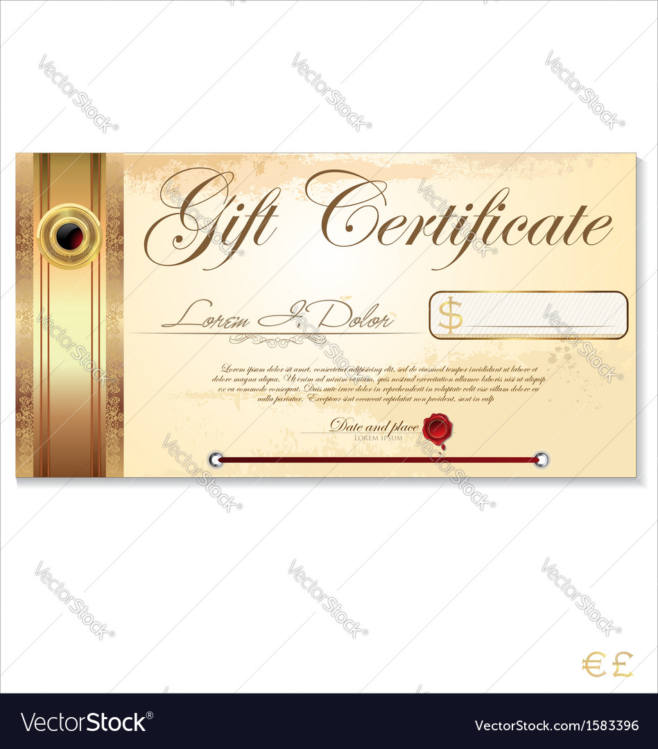 This is a graphic of Candid Gift Certificate Sample